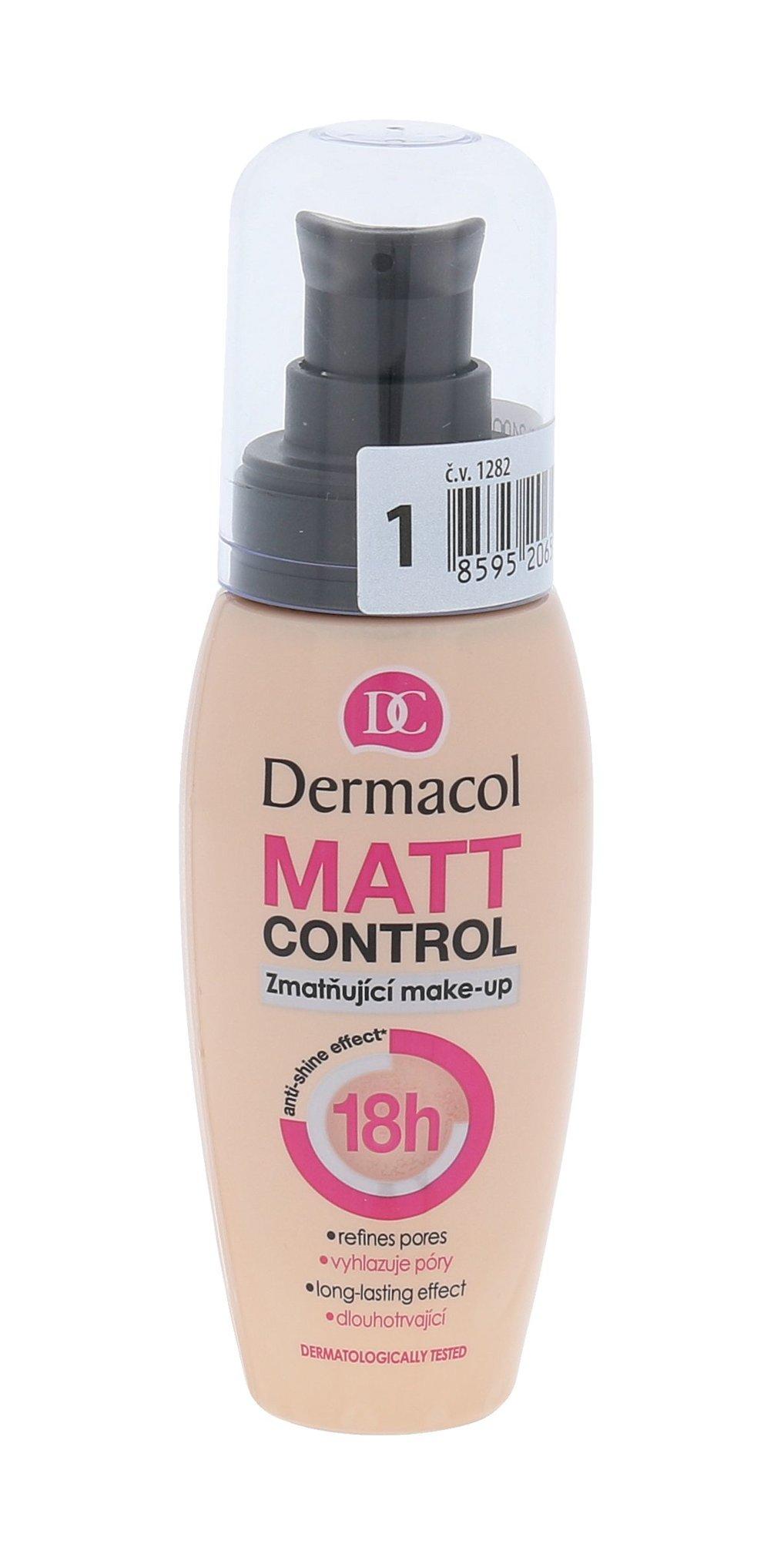 Priemonė veidui Dermacol Matt Control