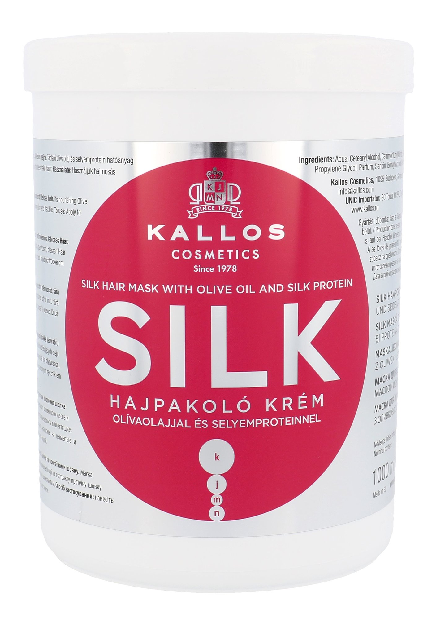 Kallos Cosmetics Silk Cosmetic 1000ml