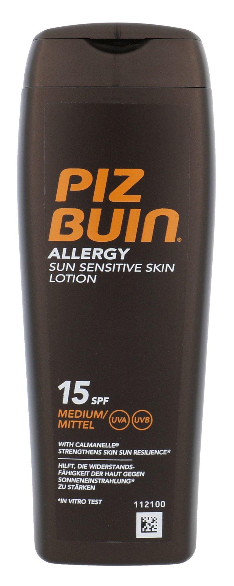 Apsaugai nuo saulės Piz Buin Alergy Lotion SPF15