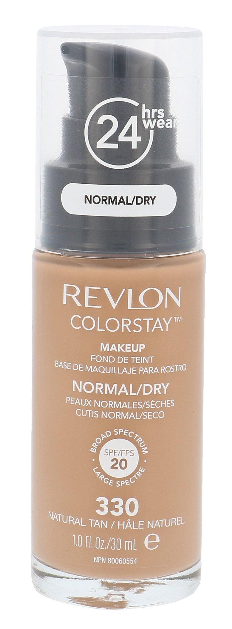 Revlon Colorstay Cosmetic 30ml 330 Natural Tan