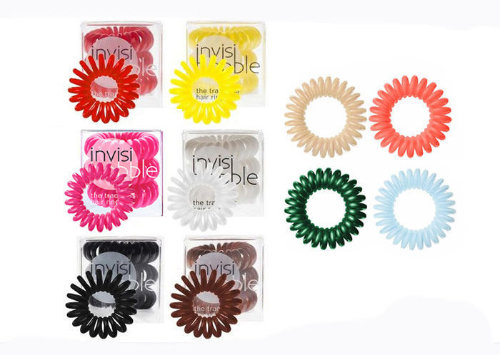 Invisibobble Hair Ring Cosmetic 3pcs Clear