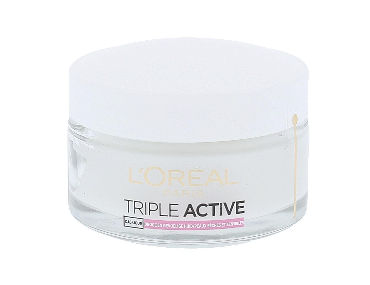 Veido kremas L´Oreal Paris Triple Active Day Cream Dry Skin