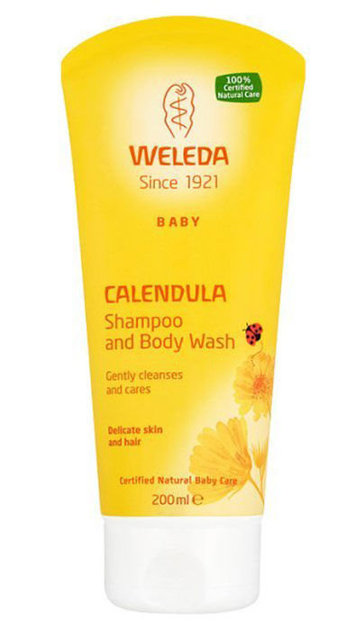 Weleda Baby Calendula Shampoo And Body Wash Cosmetic 200ml