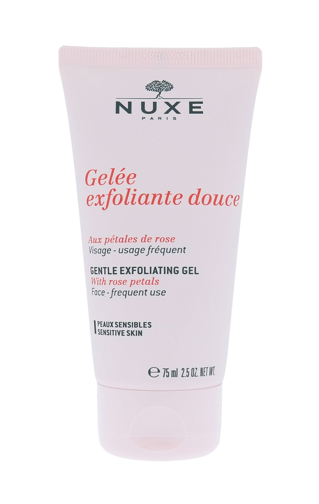 Nuxe Gentle Exfoliating Gel Cosmetic 75ml