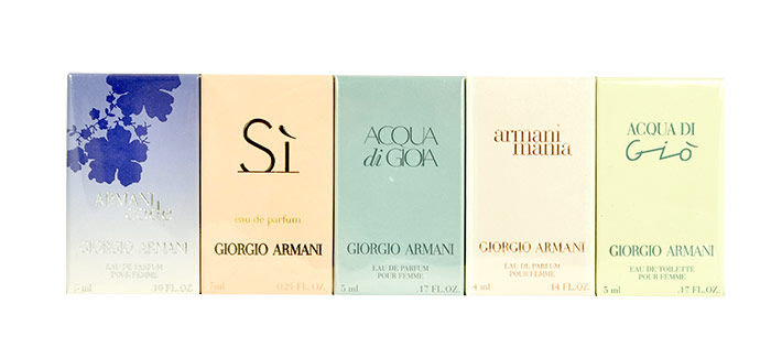 Giorgio Armani Mini Set 2 EDT 24ml