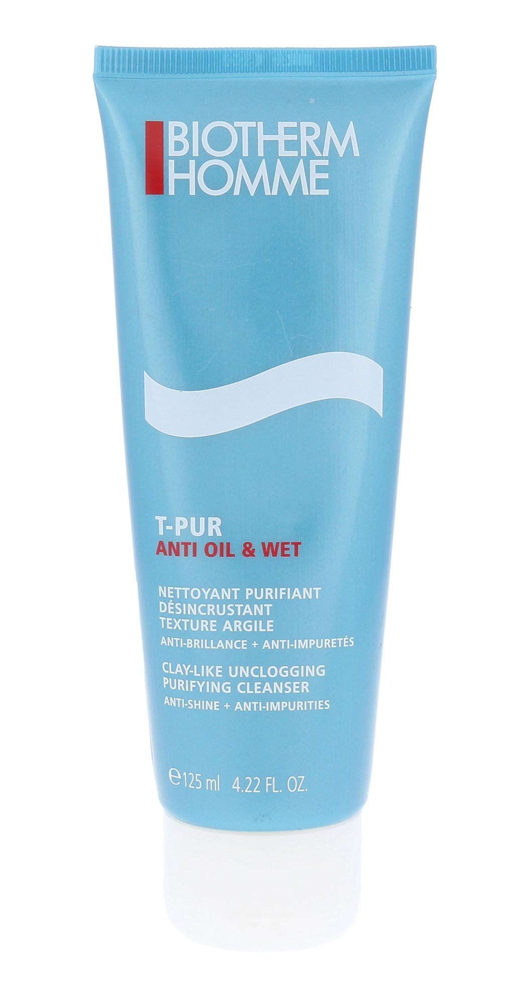 Biotherm Homme T-PUR Cosmetic 125ml  Anti Oil & Shine