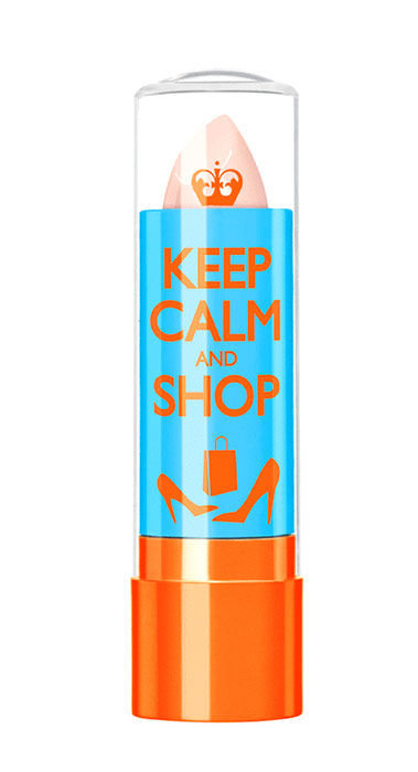 Rimmel London Keep Calm&Shop Lip Balm Cosmetic 3,8ml 010 Clear