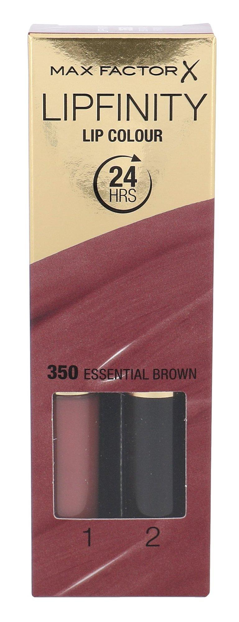 Max Factor Lipfinity Cosmetic 4,2ml 350 Essential Brown