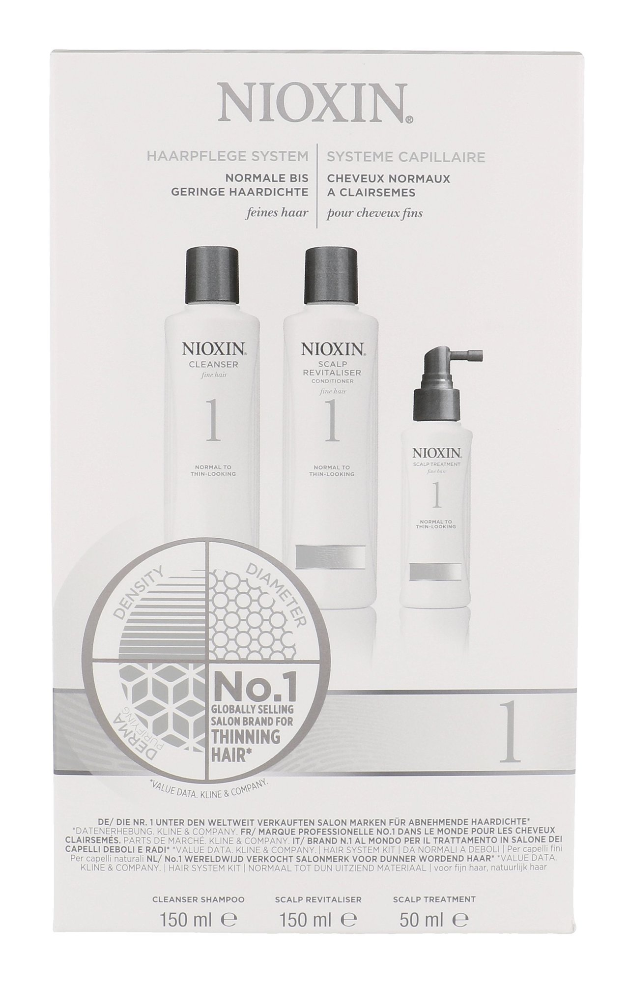 Nioxin System 1 Cosmetic 150ml