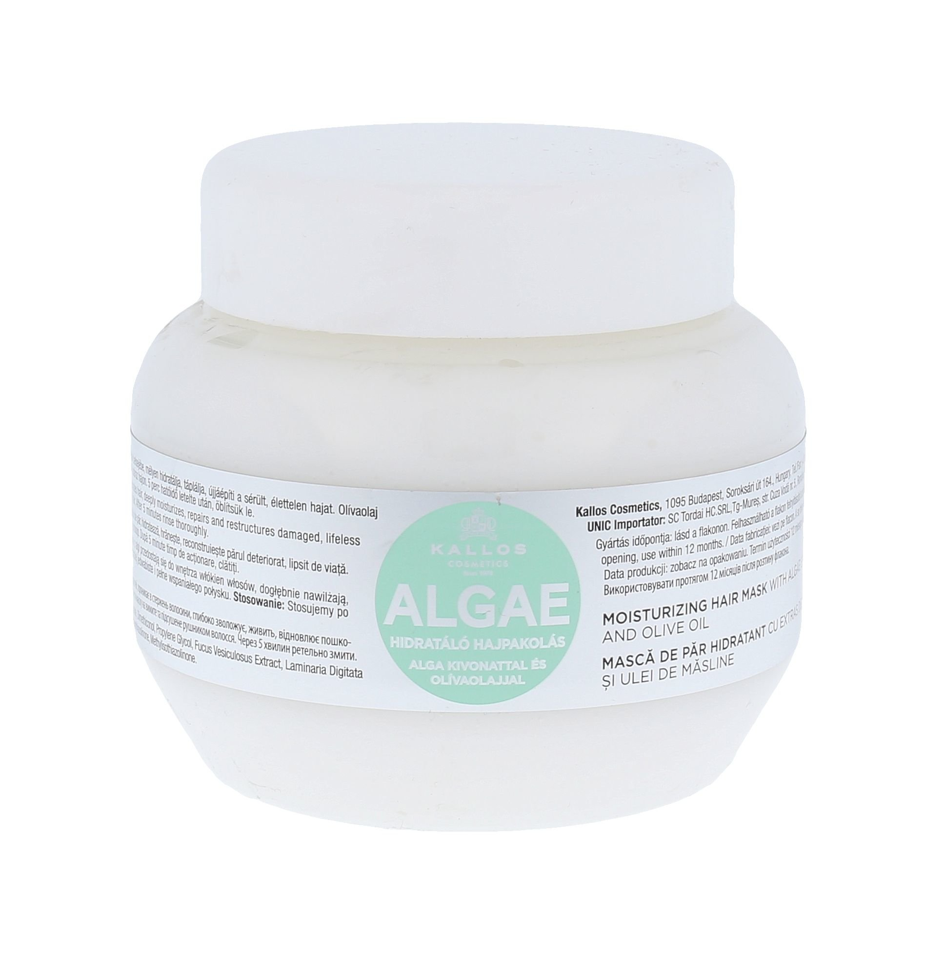 Kallos Algae Moisturizing Hair Mask Cosmetic 275ml