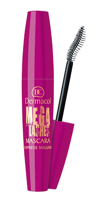 Dermacol Mega Lashes Express Volume Mascara Cosmetic 12,5ml Black