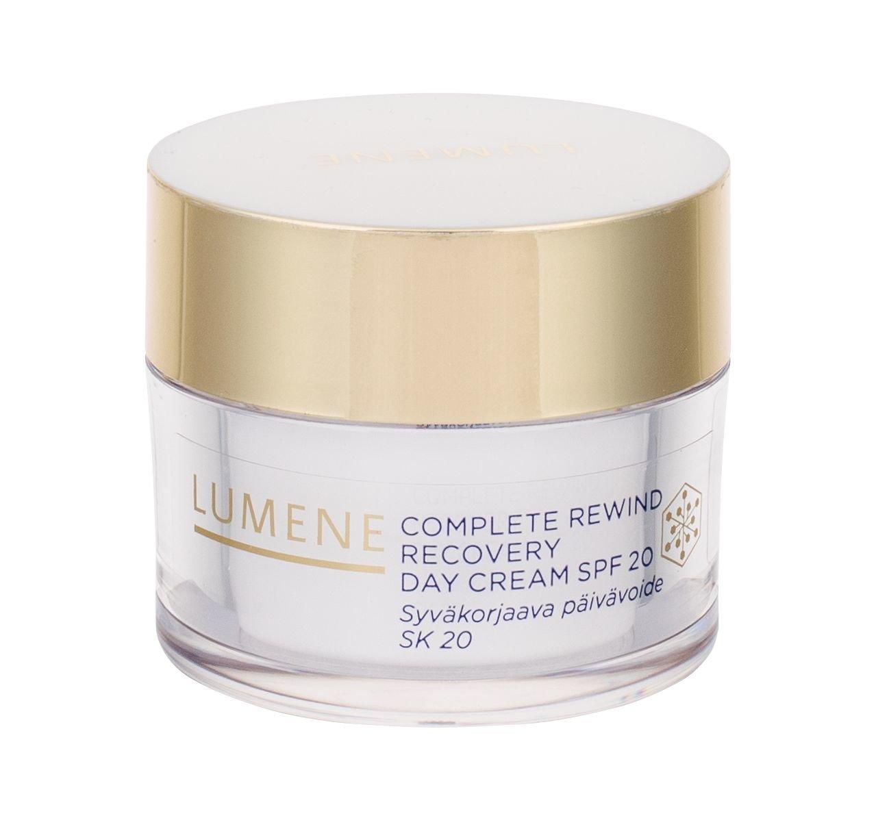 Lumene Complete Rewind Recovery Day Cream SPF20 Cosmetic 50ml