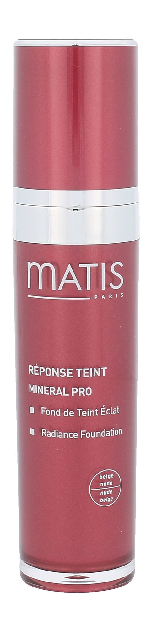 Matis Réponse Teint Radiance Foundation Cosmetic 30ml Beige Nude