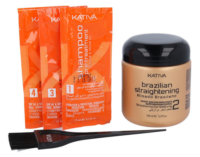 Kativa Brazilian Straightening Cosmetic 100ml  Keratin & Argan Oil