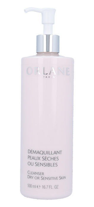 Orlane Cleanser Dry Or Sensitive Skin Cosmetic 500ml