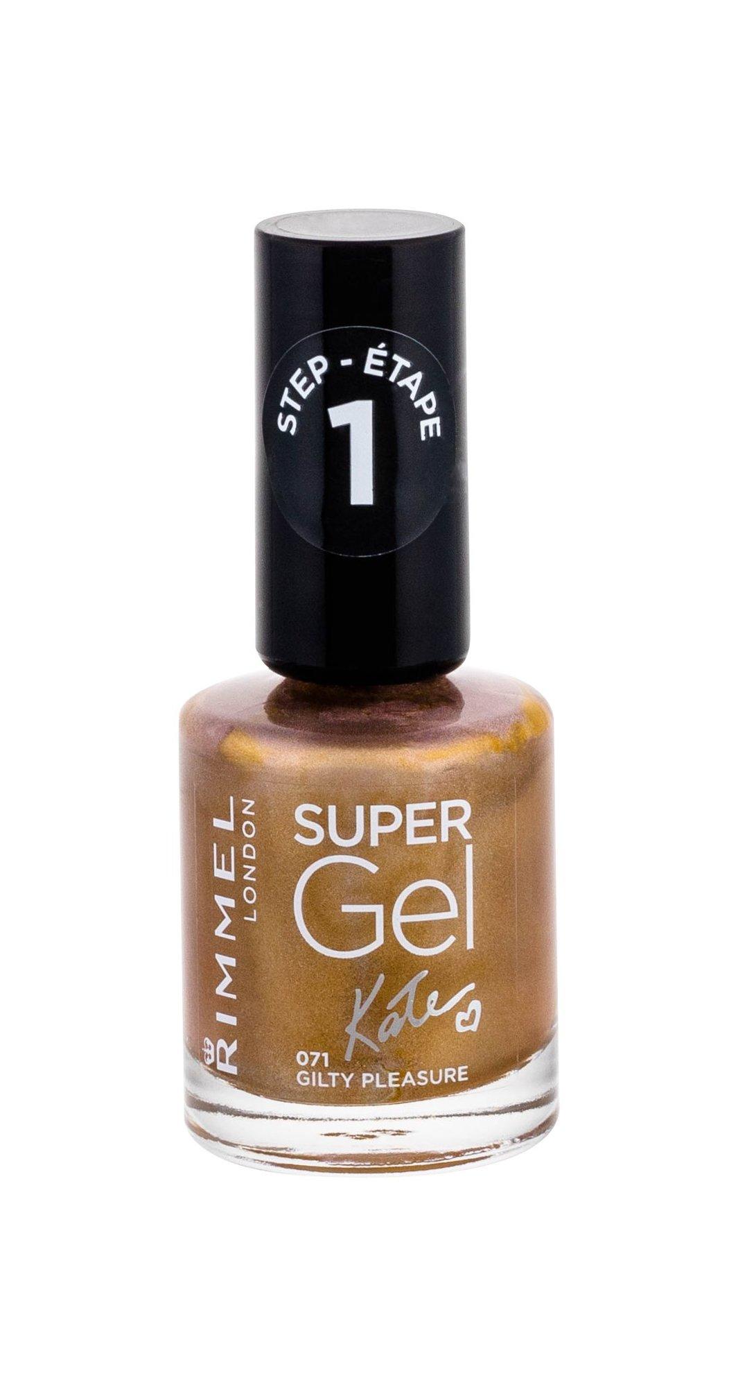 Rimmel London Super Gel By Kate Cosmetic 12ml 071 Guilty Pleasure