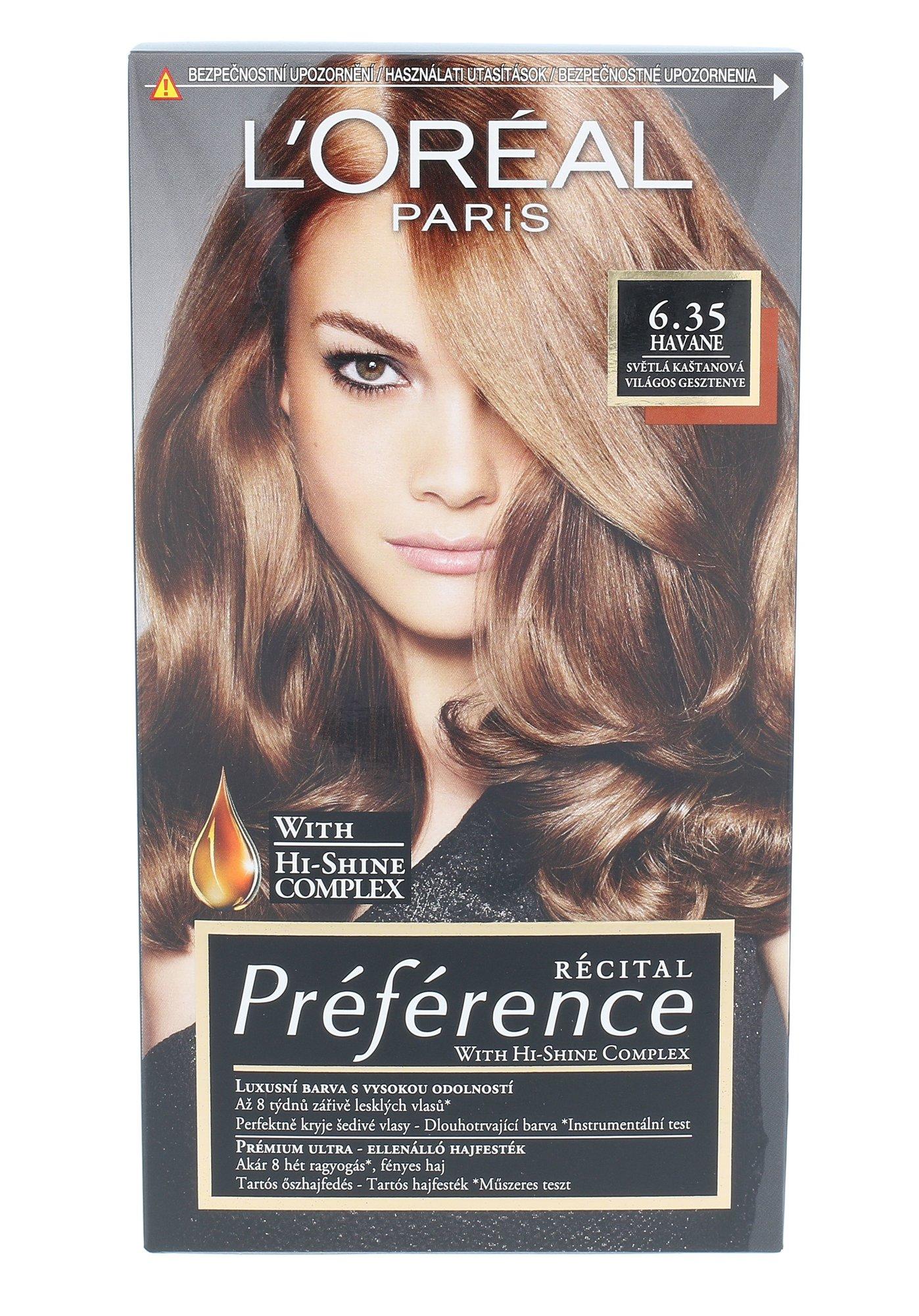 L´Oréal Paris Préférence Cosmetic 1ml 6.35 Havane