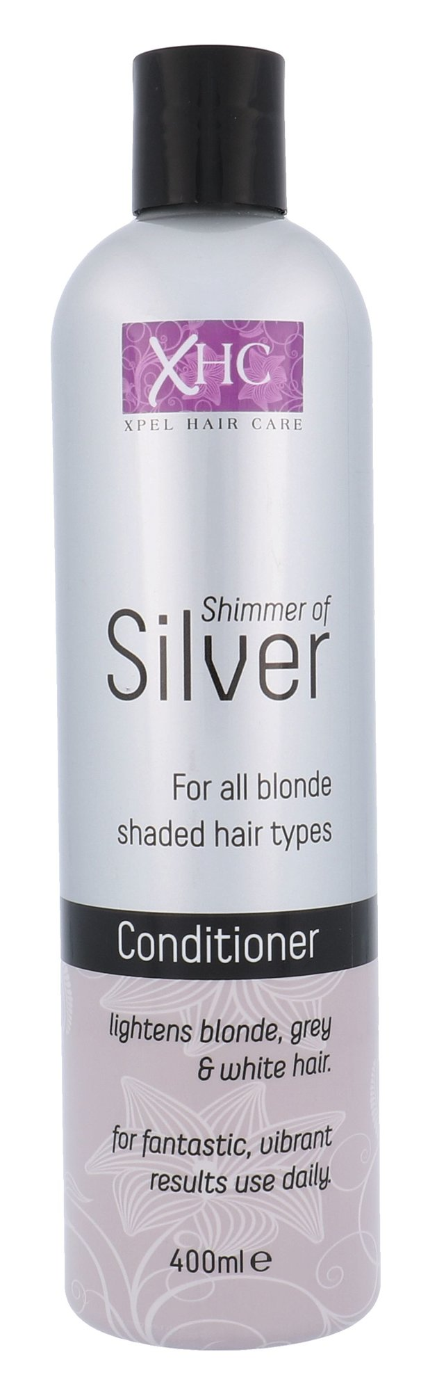 Xpel Shimmer Of Silver Cosmetic 400ml