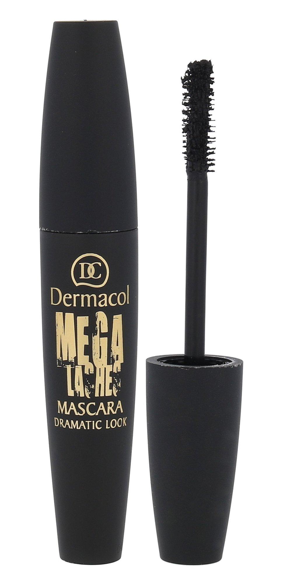 Dermacol Mega Lashes Cosmetic 13ml Black