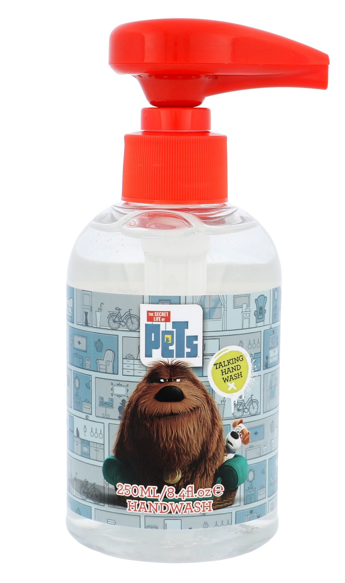 Universal The Secret Life Of Pets Talking Hand Wash Cosmetic 250ml