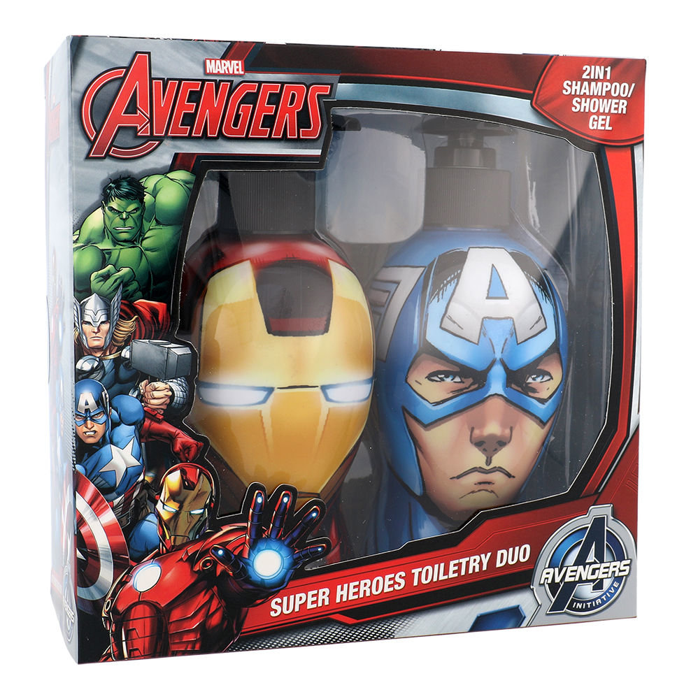 Marvel Avengers Iron Man & Captain America Shower gel 300ml