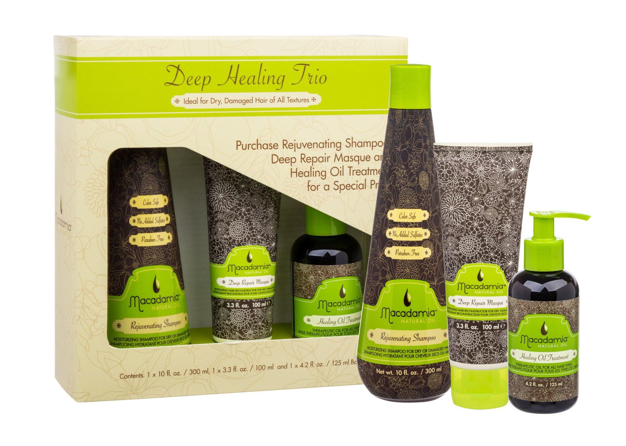Macadamia Deep Healing Trio Kit Cosmetic 300ml
