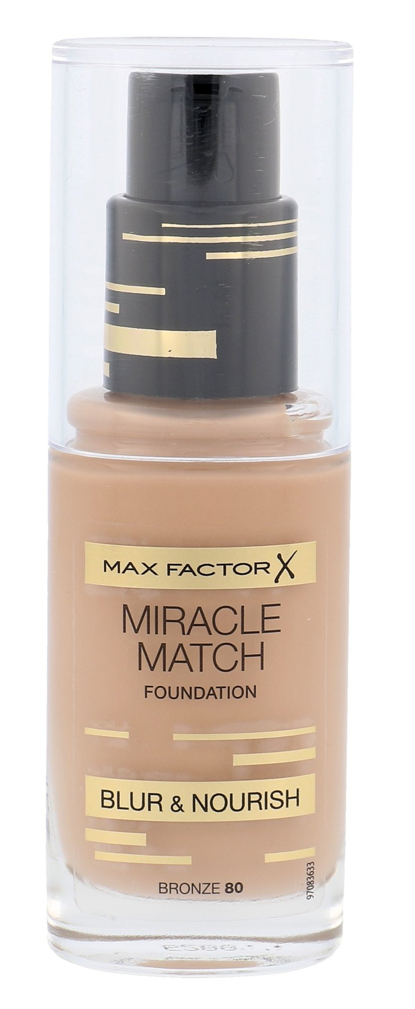 Max Factor Miracle Match Cosmetic 30ml 80 Bronze