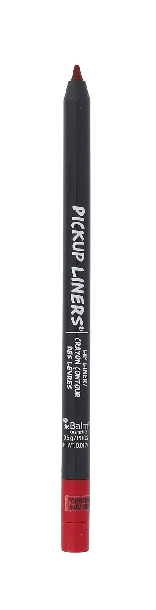 TheBalm Pickup Liners Lip Liner Cosmetic 0,5g Checking You Out...