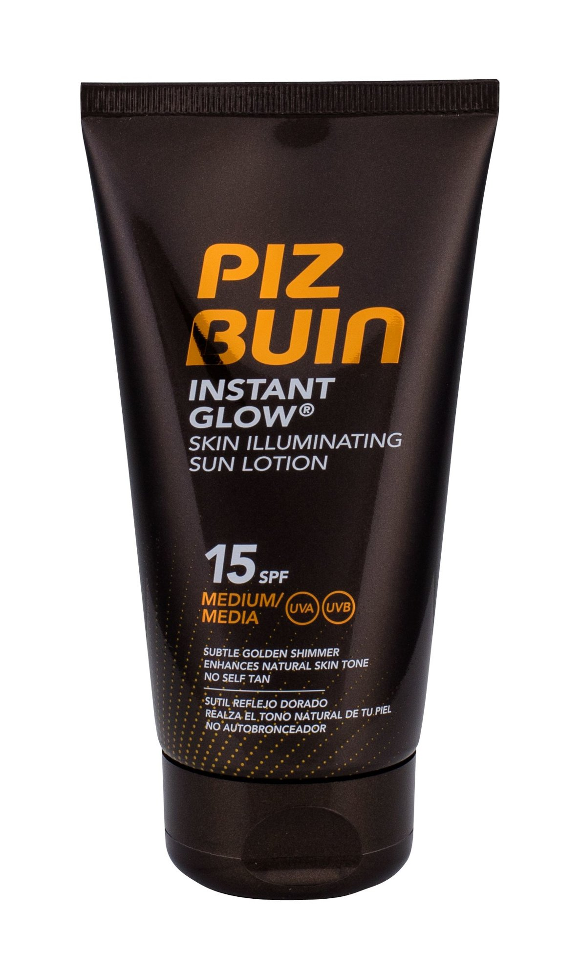 Piz Buin Instant Glow Sun Lotion SPF15 Cosmetic 150ml