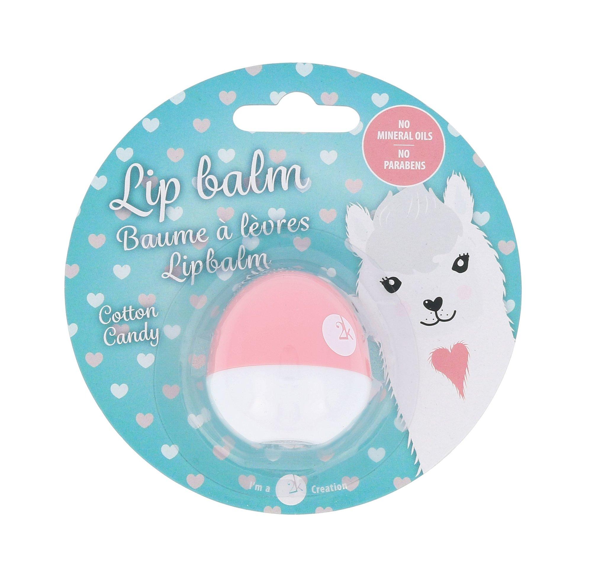 2K Animal Lip Balm Cosmetic 11ml Cotton Candy