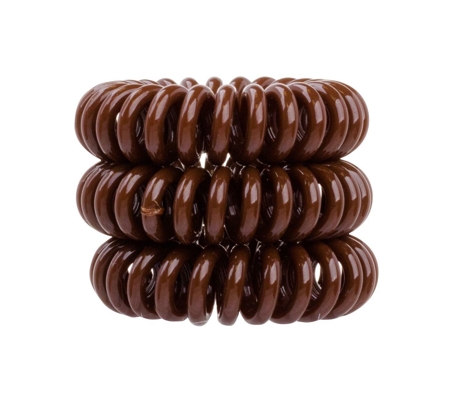 Invisibobble Hair Ring Cosmetic 3pcs Pretzel Brown