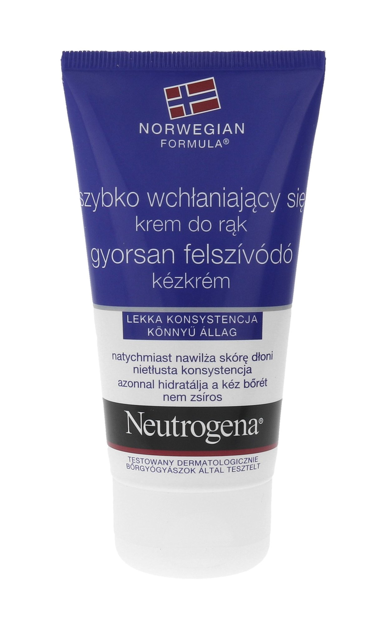 Neutrogena Fast Absorbing Hand Cream Cosmetic 75ml