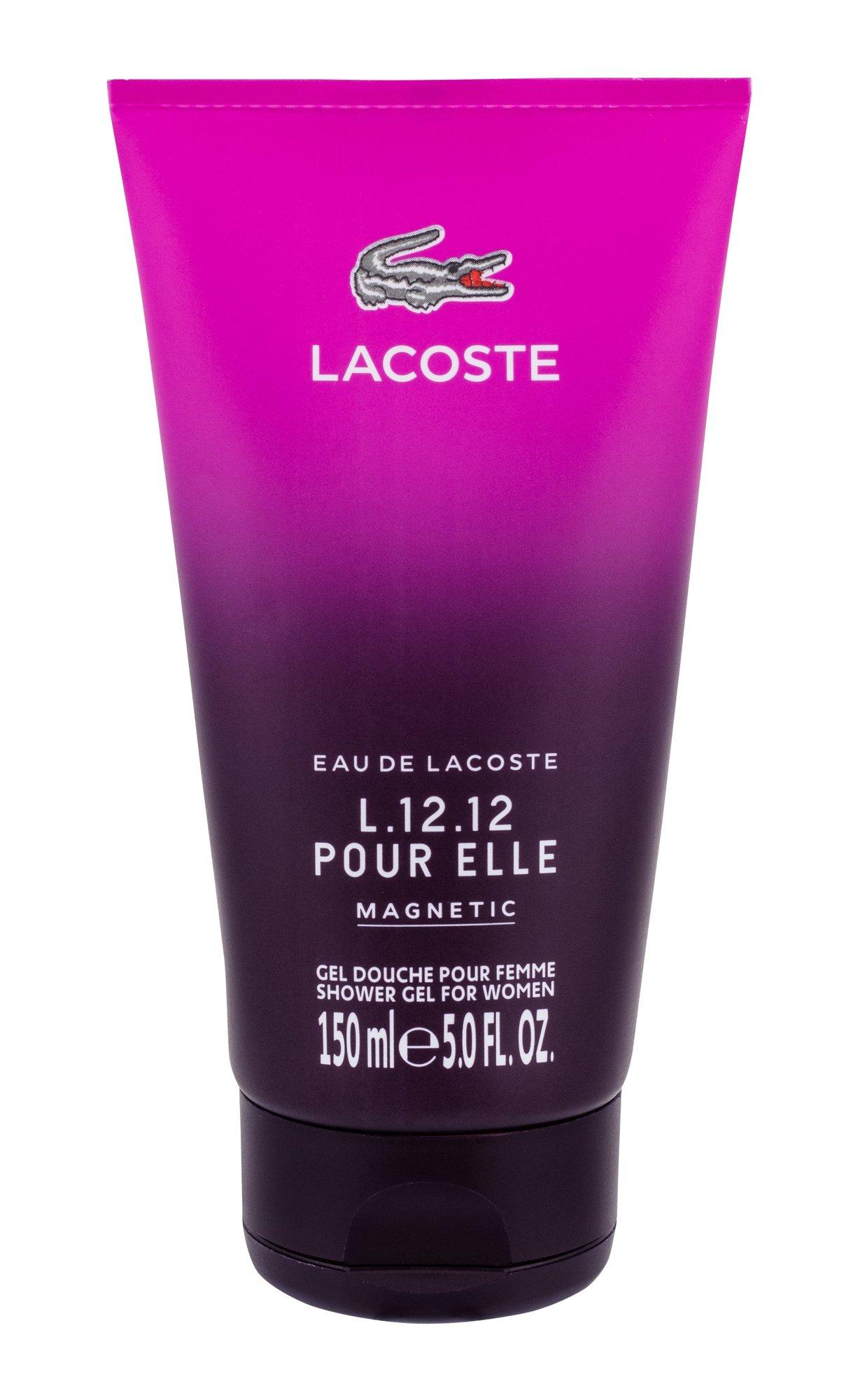 Lacoste Eau De Lacoste L.12.12 Pour Elle Magnetic Shower gel 150ml