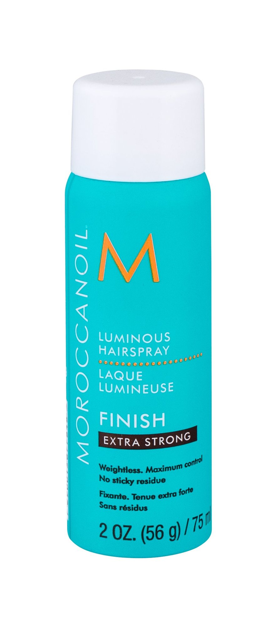 Moroccanoil Luminous Hairspray Extra Strong Finish Cosmetic 75ml