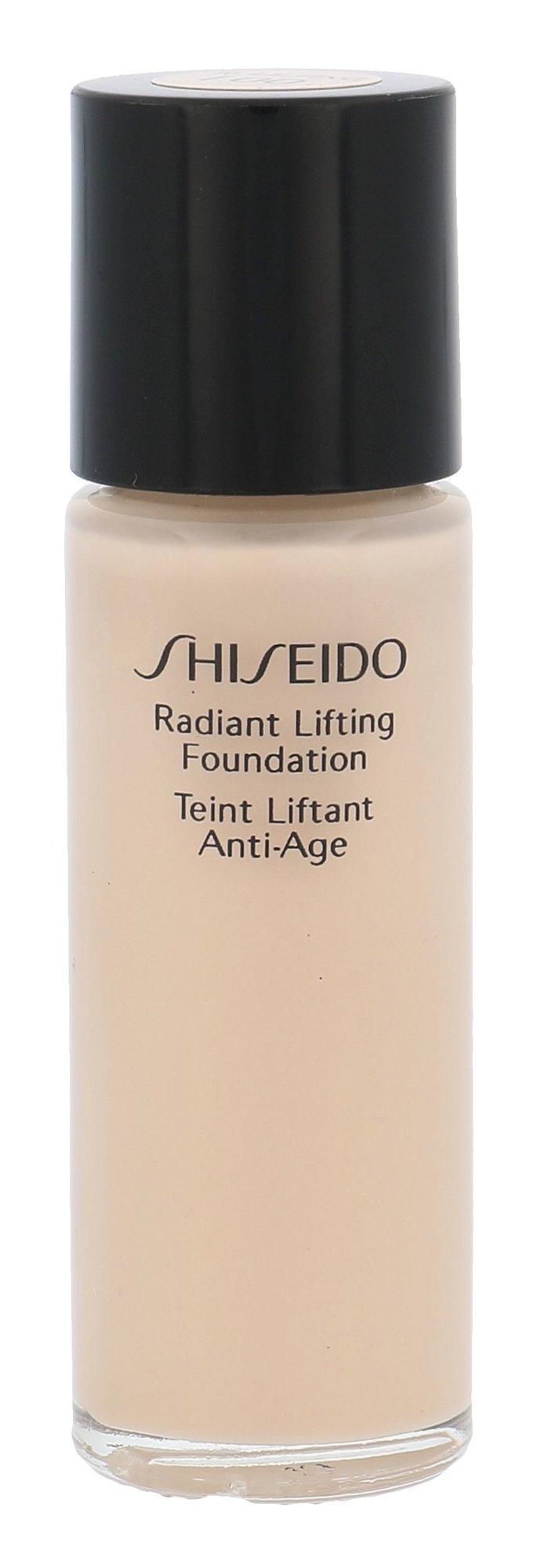 Shiseido Radiant Lifting Foundation Cosmetic 15ml I00 Very Light Ivory
