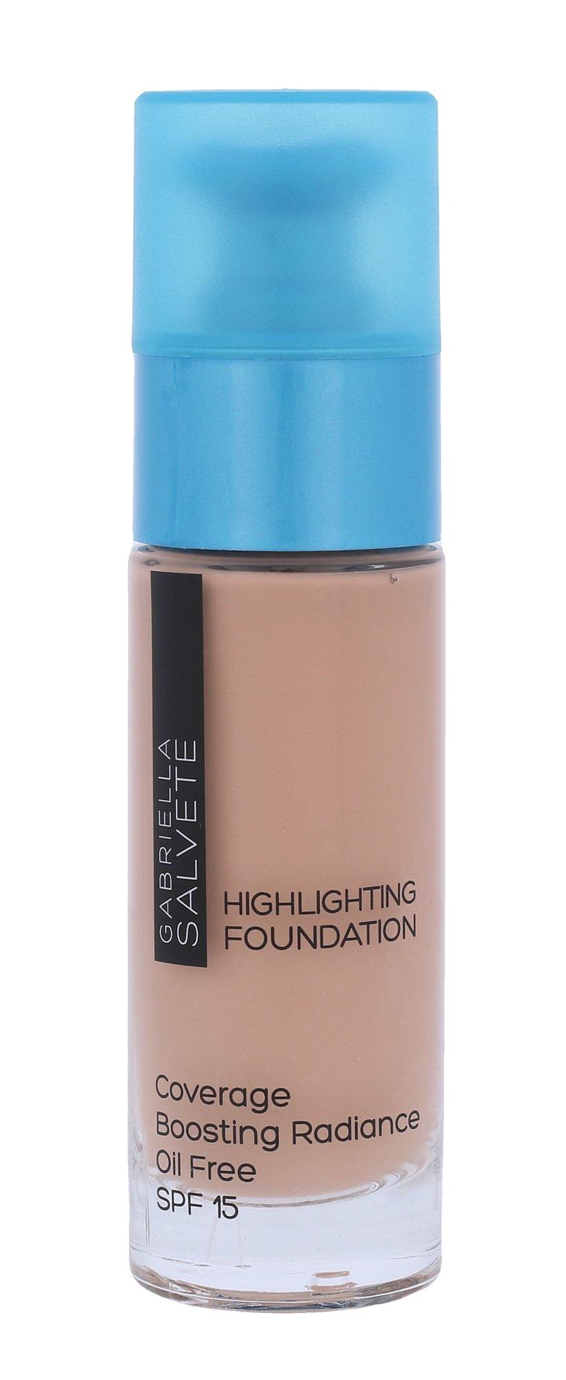 Gabriella Salvete Highlighting Foundation SPF15 Cosmetic 30ml 103 True Ivory