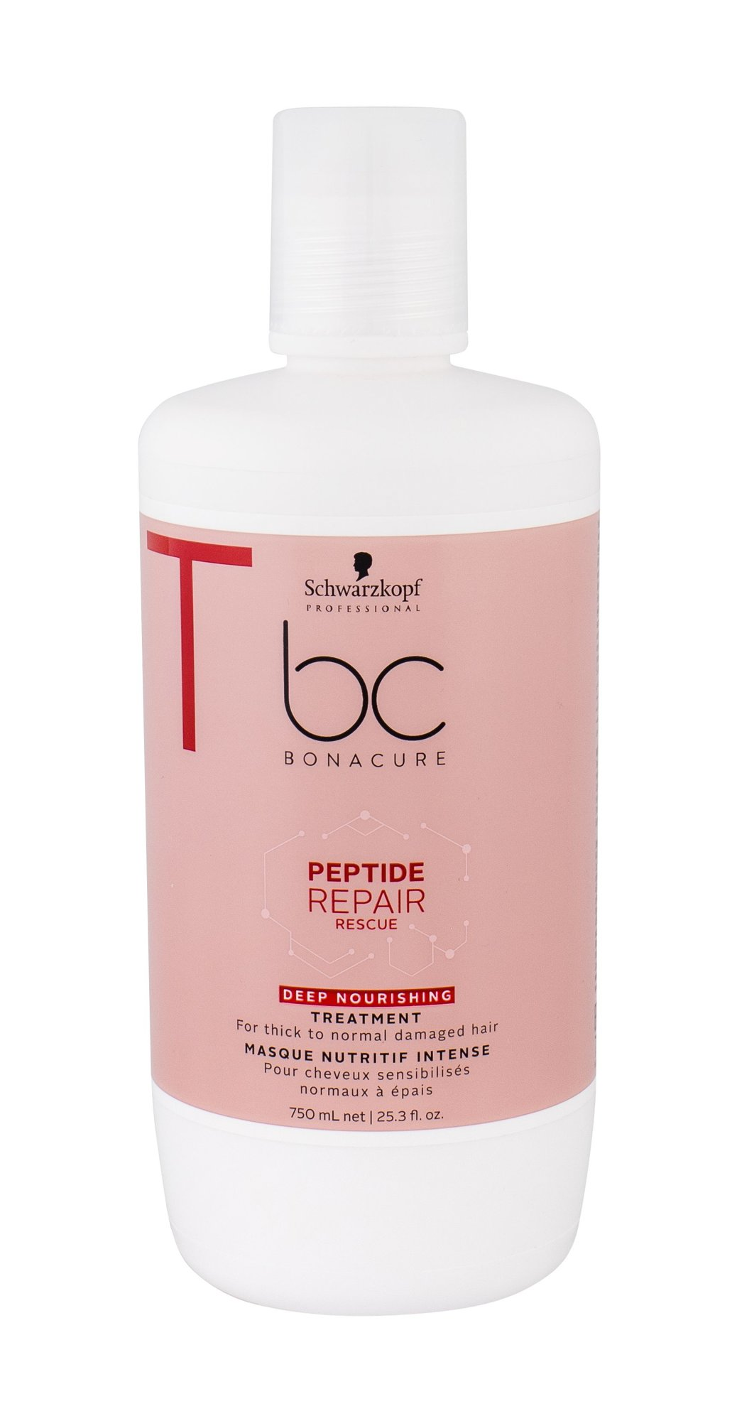 Schwarzkopf BC Bonacure Peptide Repair Rescue Hair Mask 750ml