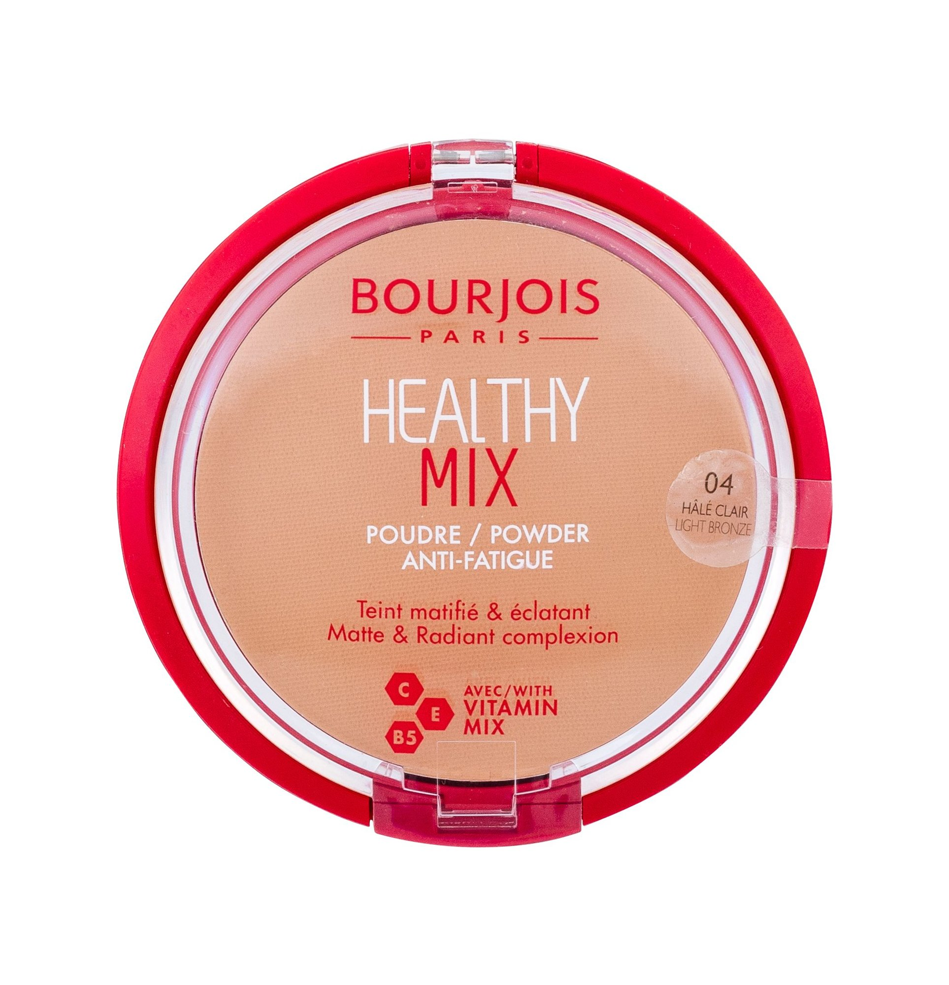 BOURJOIS Paris Healthy Mix Powder 11ml 04 Light Bronze