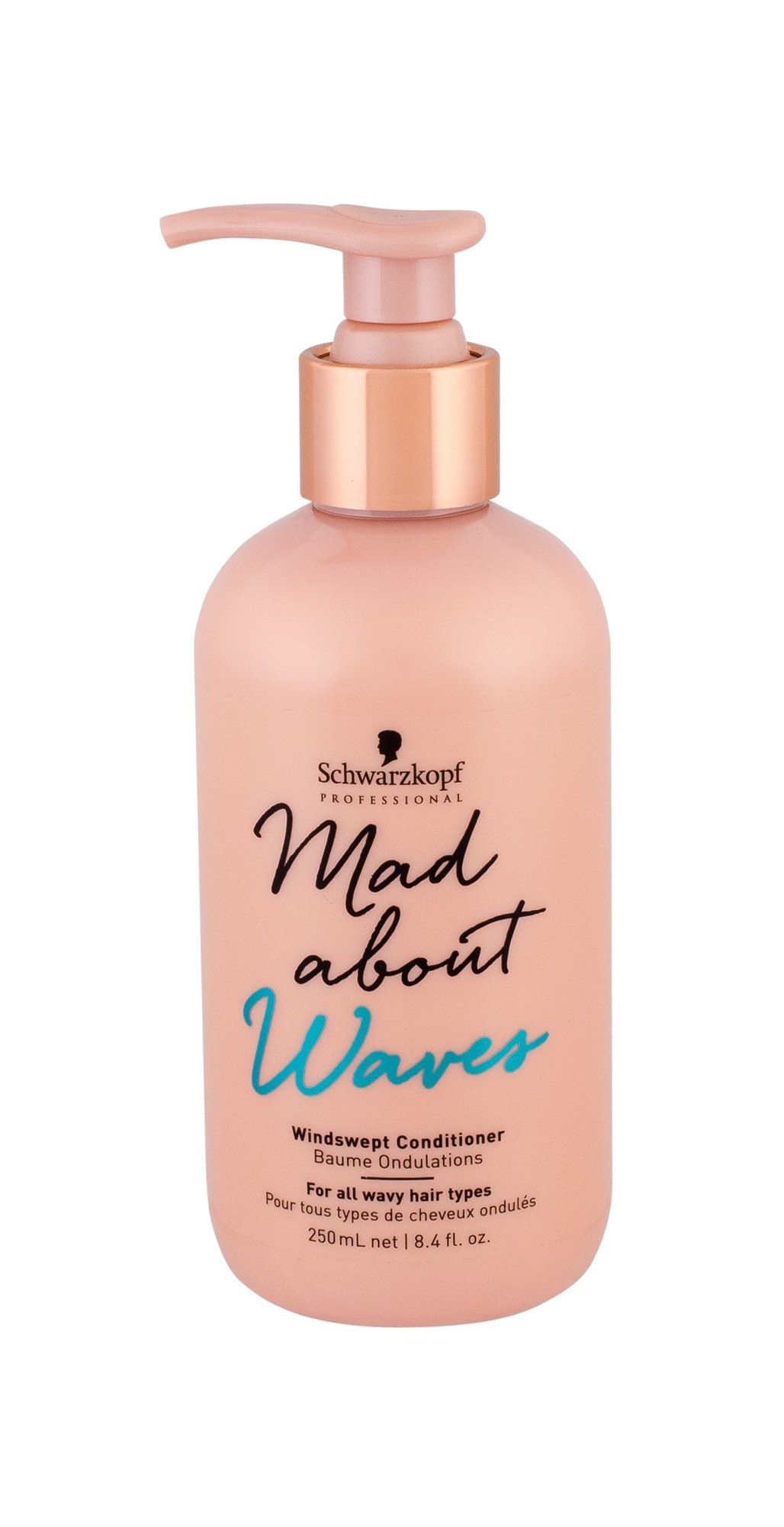 Schwarzkopf Mad About Waves Conditioner 250ml