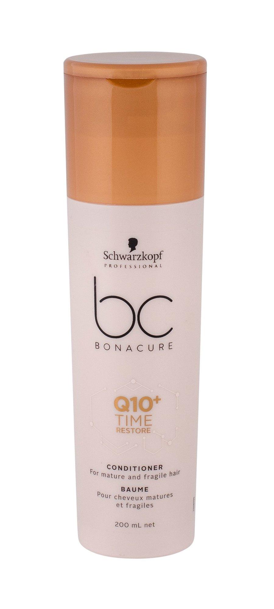 Schwarzkopf BC Bonacure Q10+ Time Restore Conditioner 200ml