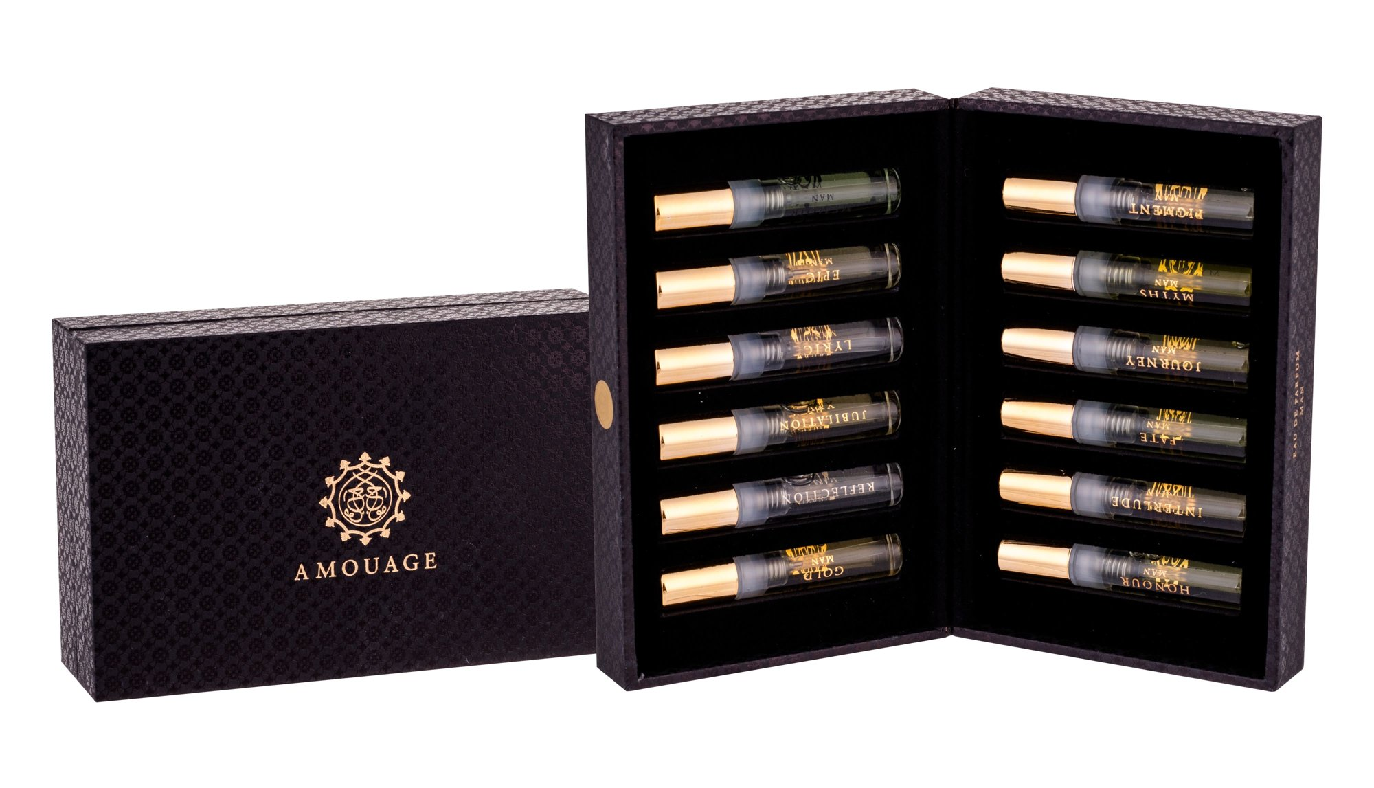 Amouage Vials Box for Men Eau de Parfum 12x2ml