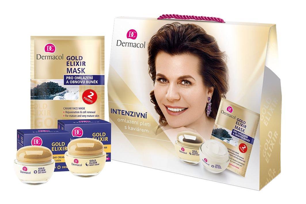 Dermacol Gold Elixir Day Cream 50ml