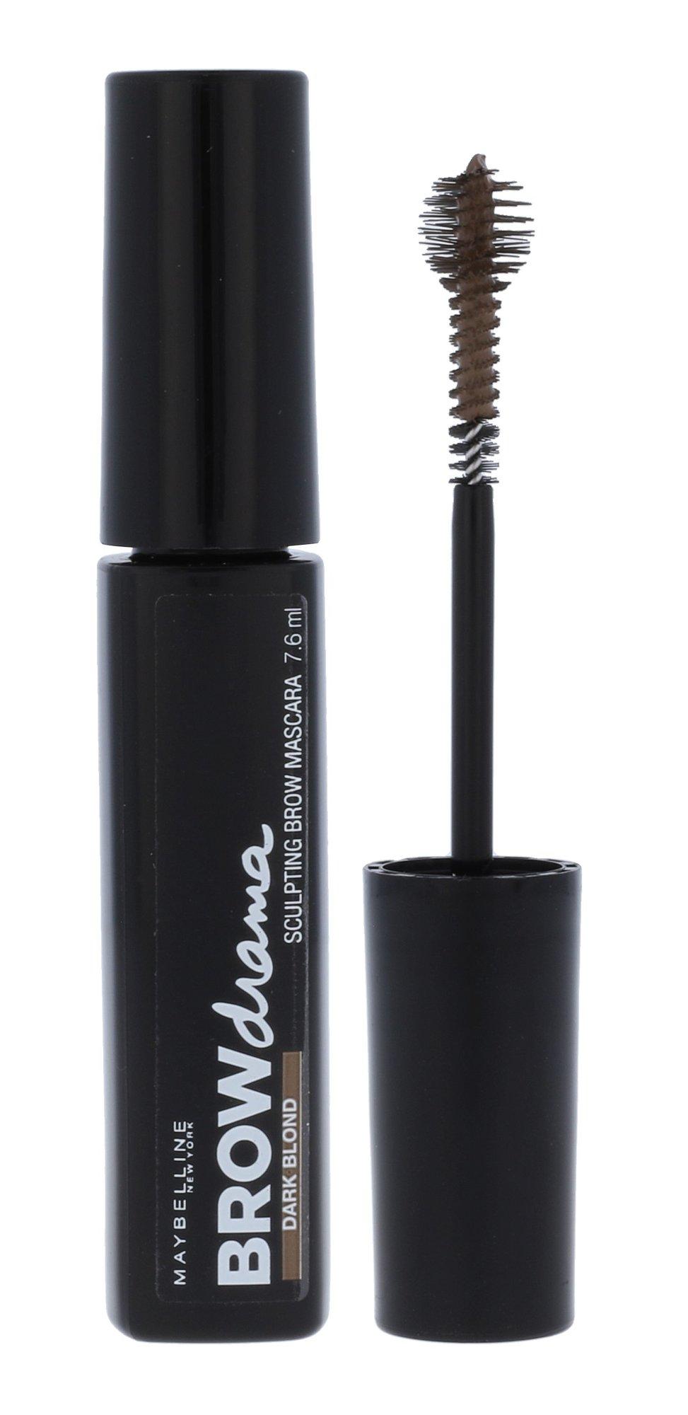 Maybelline Brow Drama Sculpting Brow Mascara Cosmetic 7,6ml Dark Blond