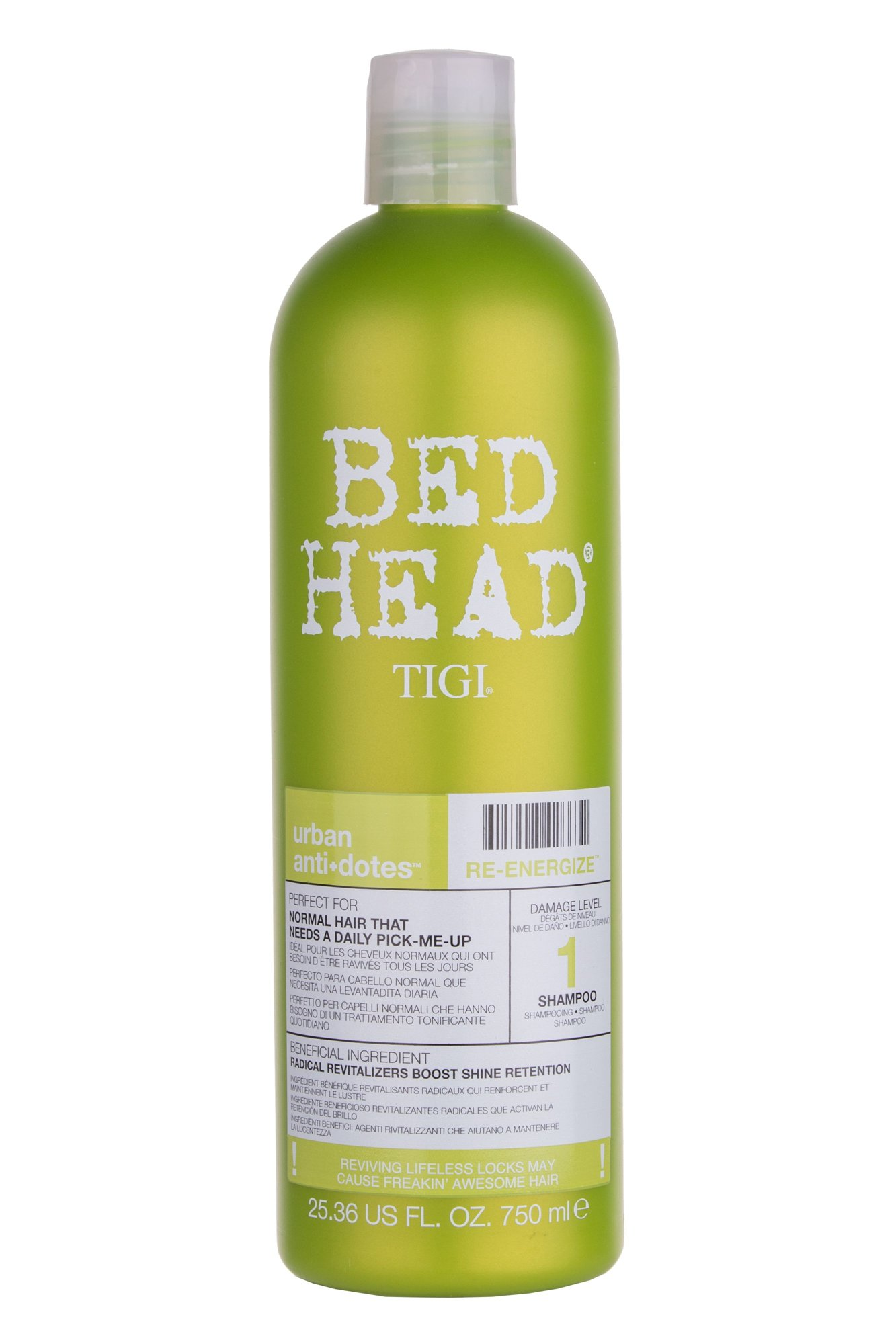 Tigi Bed Head Re-Energize Cosmetic 750ml