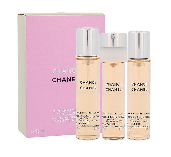 Chanel Chance EDT 3x20ml