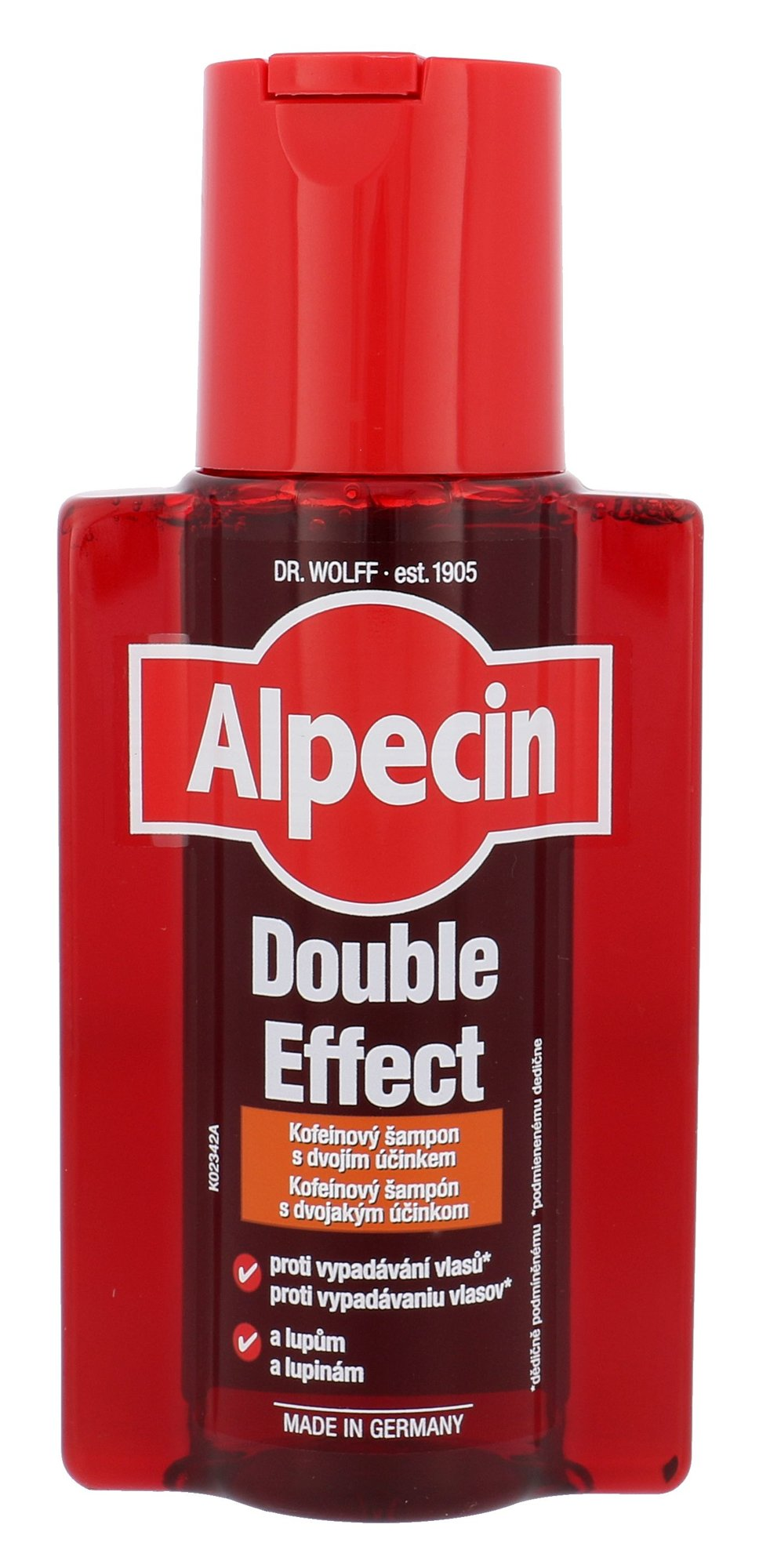 Alpecin Double Effect Caffeine Cosmetic 200ml