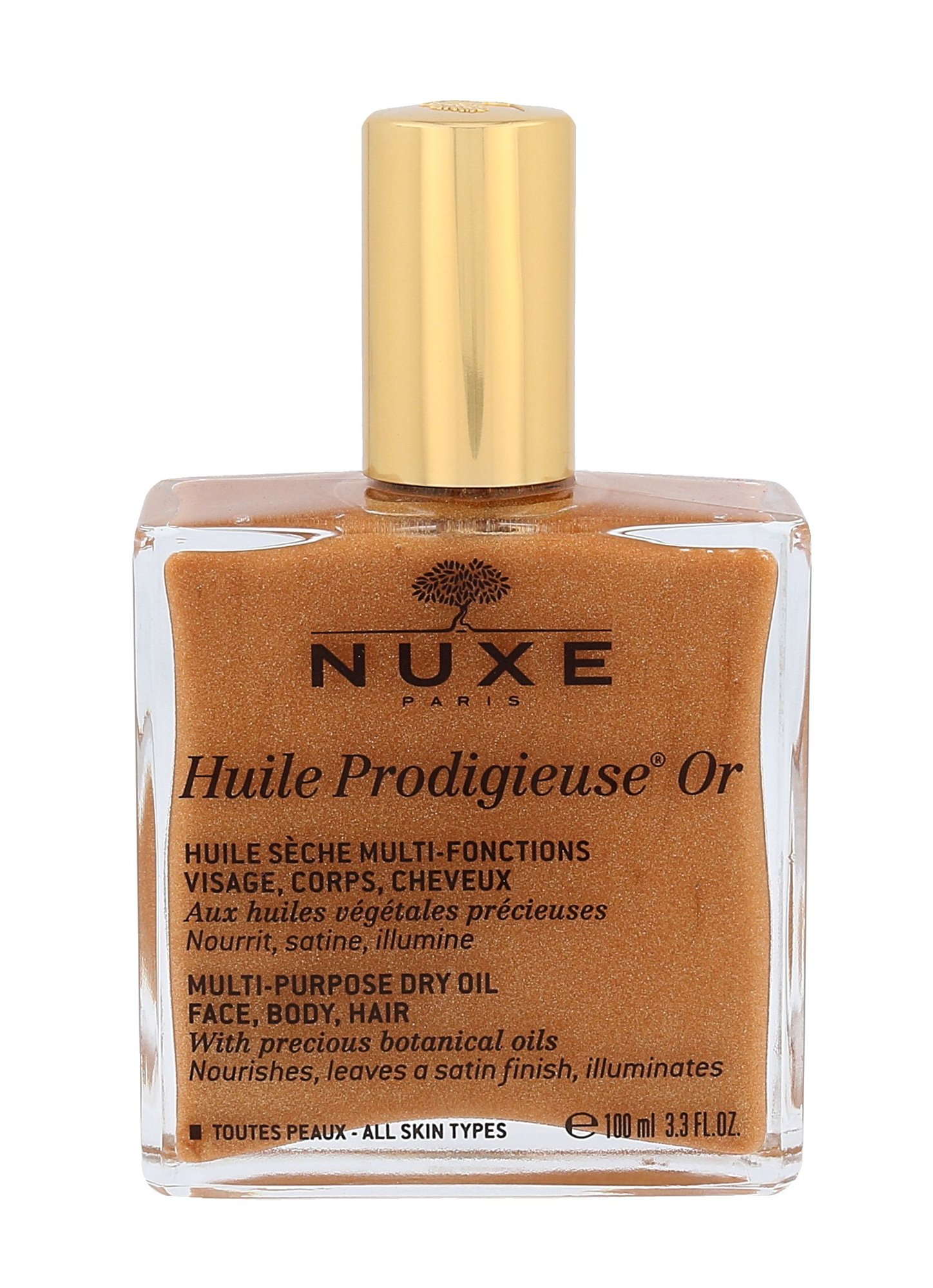 Nuxe Huile Prodigieuse Or Multi Purpose Dry Oil Cosmetic 100ml