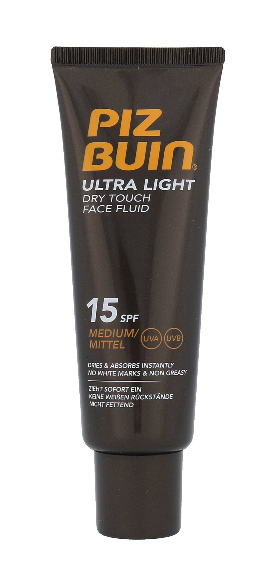 Piz Buin Ultra Light Dry Touch Face Fluid SPF15 Cosmetic 50ml