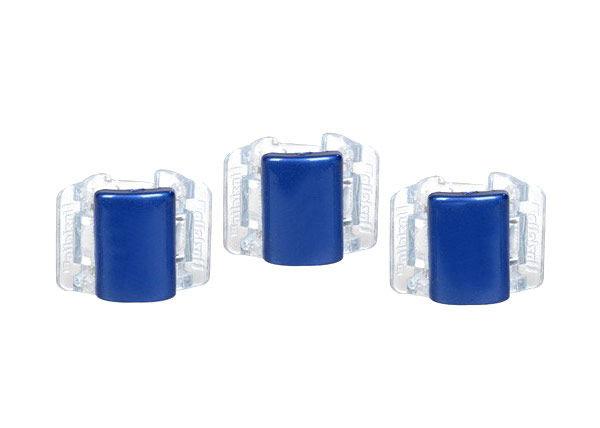 Linziclip Mini Hair Clip Cosmetic 1ks Blue Translucent