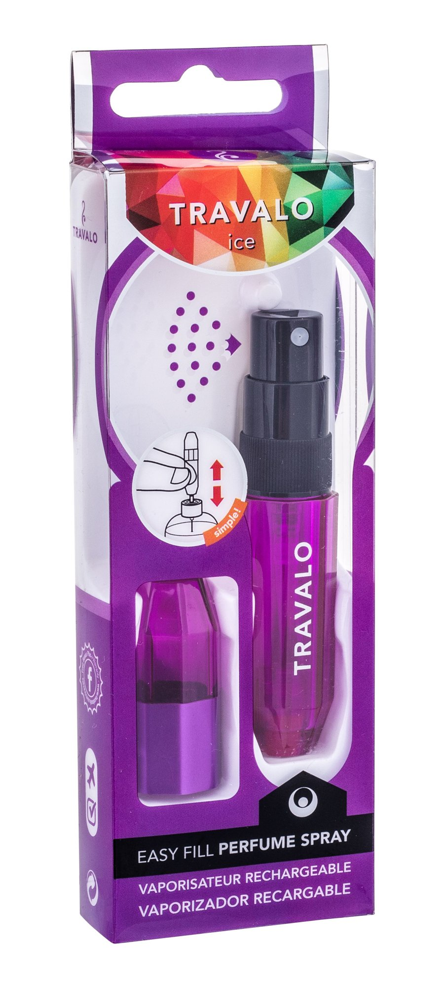 Travalo Ice refillable flacon 5ml